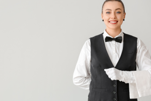 female butler