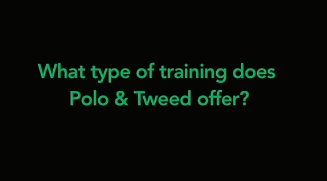 Types of Domestic Staff Training Offered at Polo & Tweed