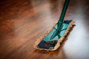 floor cleaning process in housekeeping