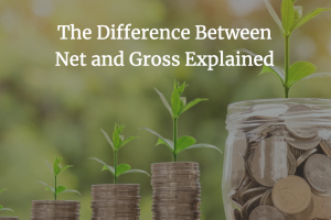 Difference between net and gross