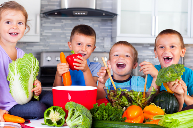 getting your children to eat healthier
