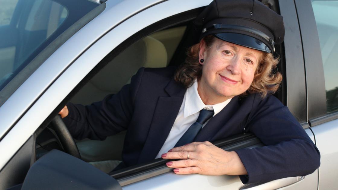 female chauffeur