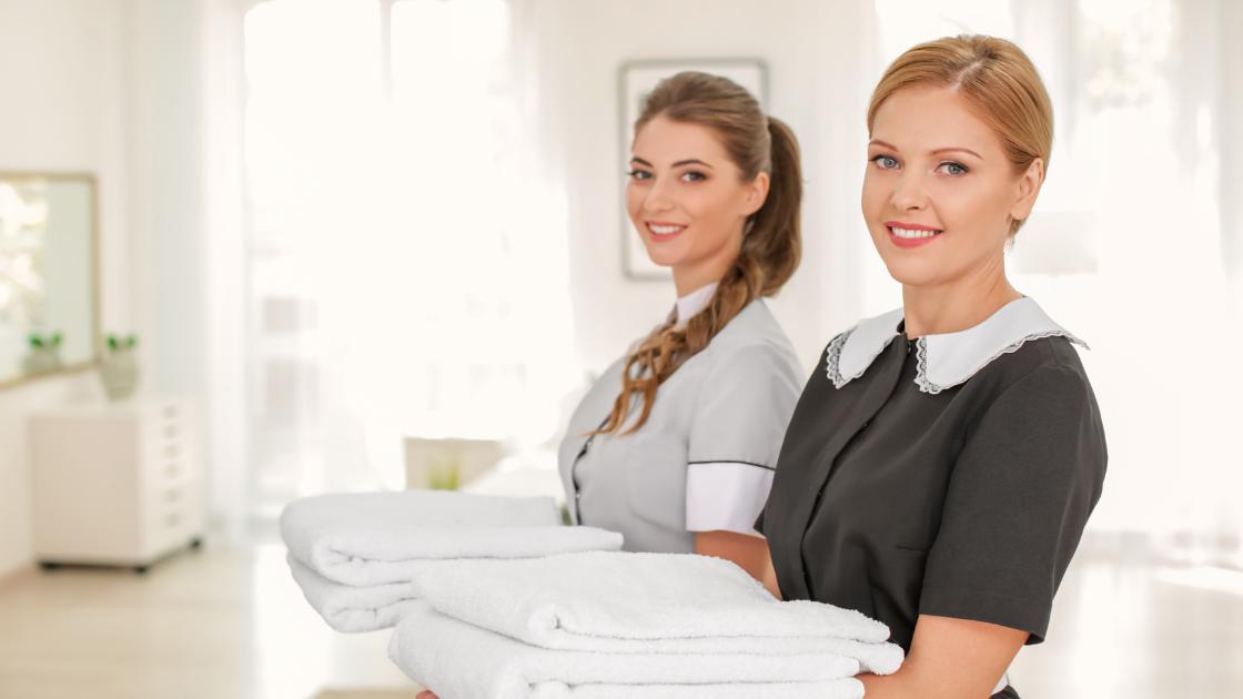 housekeepers in uniform